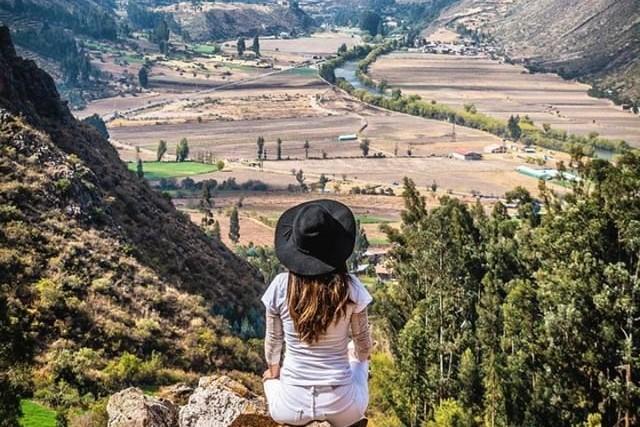 viewponint in sacred valley